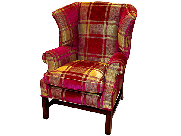 Library Wing Chair